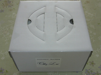 20121221 イトーヨーカドー X'masケーキ外箱.JPG