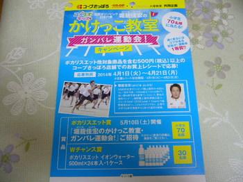 20140614 コープさっぽろ×大塚製薬 イオンウォーター1ケース2.JPG