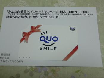 20130522 北海道電力 QUOカード1,000円分.JPG